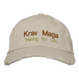 Krav Maga, Training for Life Embroidered Baseball Caps