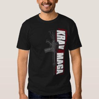 Krav Maga Vertical M16 T Shirts