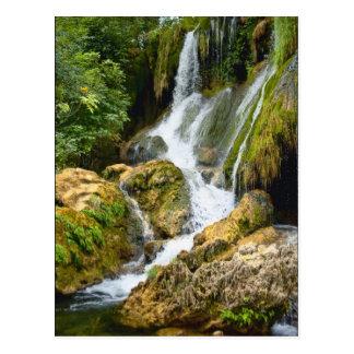 Kravice waterfall, Bosnia-Hercegovina Postcard