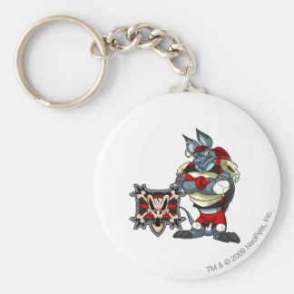Krawk Island Team Captain 1 Basic Round Button Key Ring