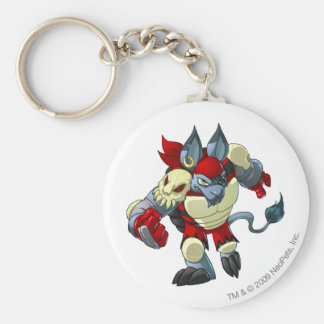 Krawk Island Team Captain 2 Basic Round Button Key Ring