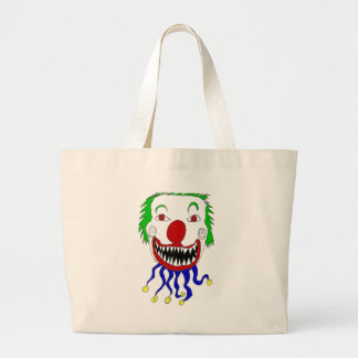 Kreepy Klown Large Tote Bag