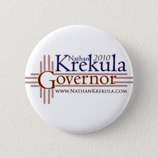 Krekula for Governor 6 Cm Round Badge