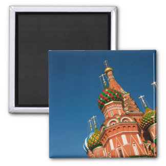 Kremlin, Vasiliy Blessed | Moscow, Russia Square Magnet