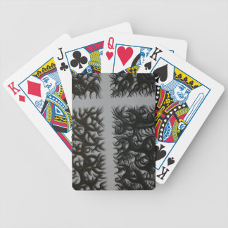 kreutz black Fleming Bicycle Playing Cards