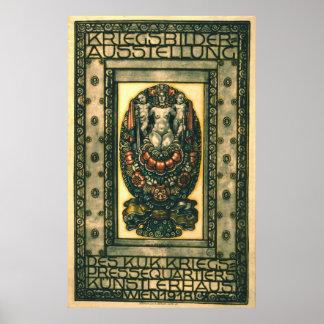 Kriegsbilder 1918 posters