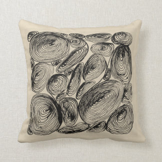 Kringel abstractly shell of stones cushion