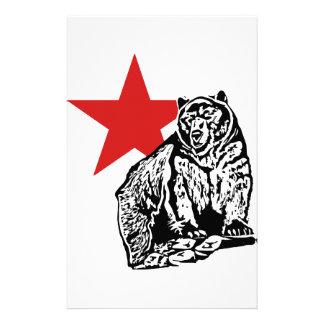 Kris Alan Bear Personalized Stationery