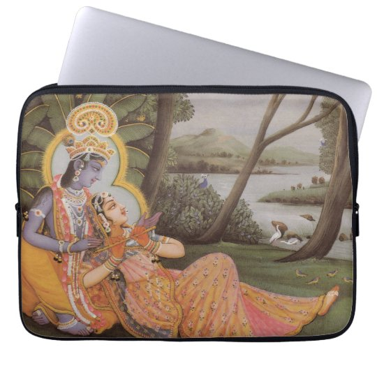 "Krishna Hindu Diety 13"" Laptop/Macbook Pro Sleeve"