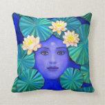Krishna Lotus Pillow