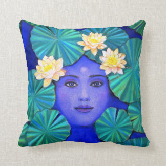 Krishna Lotus Pillow