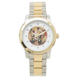 KRISHNA:    Two-Tone  Gold Silver Watch