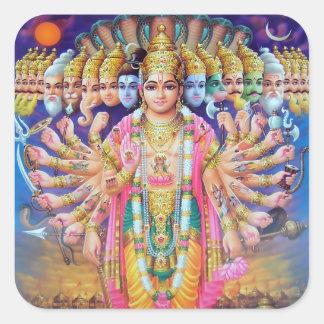 Krishna Vishvarupa Stickers