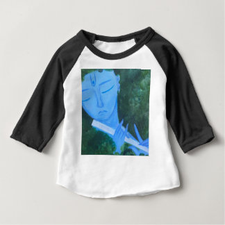 Krishna with Flute Baby T-Shirt