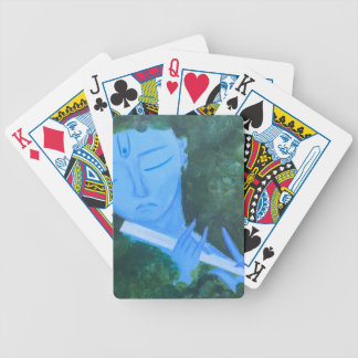 Krishna with Flute Bicycle Playing Cards