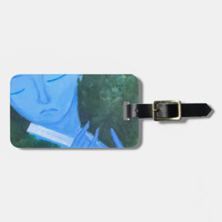 Krishna with Flute Luggage Tag