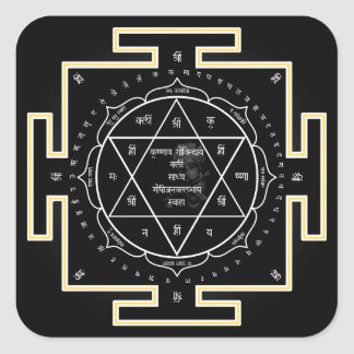 Krishna yantra Sticker