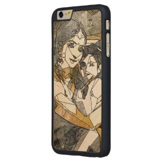 Krishna & Yashoda - iPhone Bumper Cherry Wood Case