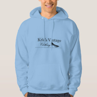 Kris's Vintage Clothing Logo Sweatshirt Light Blue