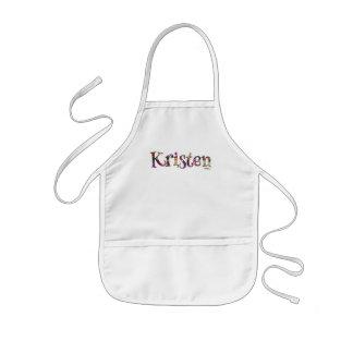 Kristen's Colorful Fun Apron: Kids Apron