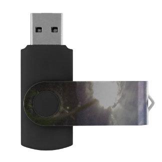 Kristiansten Fortress view Swivel USB 3.0 Flash Drive