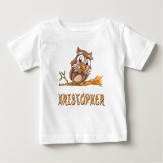 Kristopher Owl Baby T-Shirt