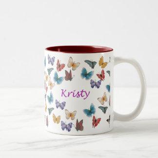 Kristy Two-Tone Coffee Mug