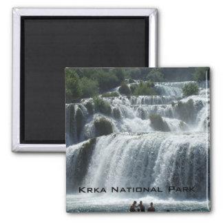 Krka National Park Square Magnet