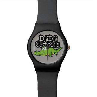 Kroko design watch