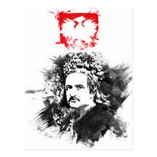 Krol Jagiello Postcard
