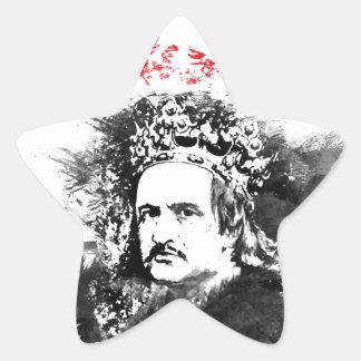 Krol Jagiello Star Sticker