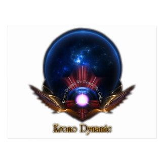 Krono Dynamic Fractal Art Postcard