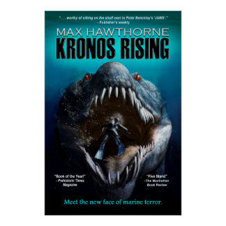 KRONOS RISING New COVER DESIGN Poster - TEETH!