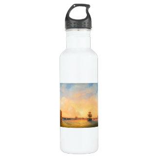 Kronstadt Fort Emperor Alexander  Ivan Aivazovsky 710 Ml Water Bottle