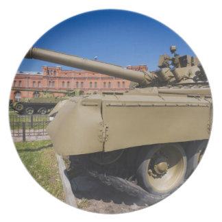 Kronverksky Island, Artillery Museum, tanks Plate