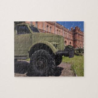 Kronverksky Island, Artillery Museum, truck Jigsaw Puzzle