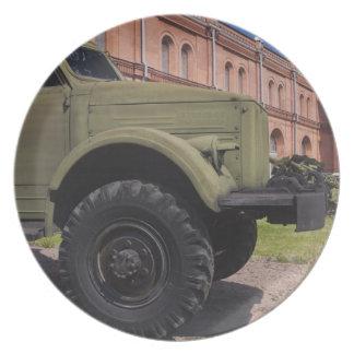 Kronverksky Island, Artillery Museum, truck Party Plate