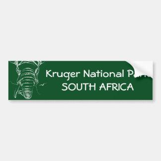 Kruger National Park Bumper Sticker