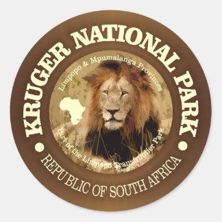 Kruger National Park (C) Classic Round Sticker