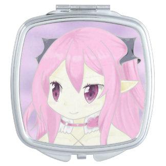 Krul Tepes Anime Girl Compact Mirror