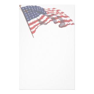 KRW American Flag Stationery