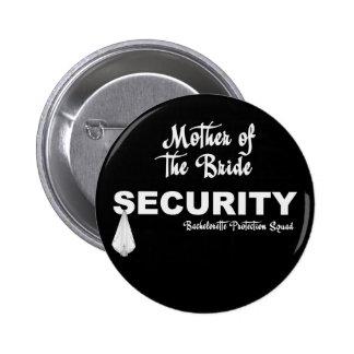 KRW Bachelorette Protection Squad 6 Cm Round Badge