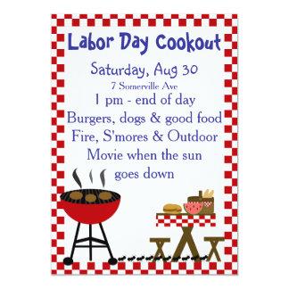KRW Backyard Cookout Invitation