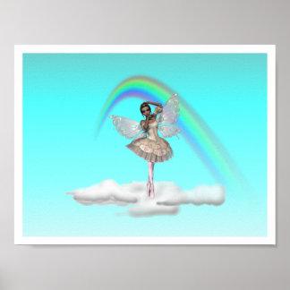 KRW Ballerina Faery Poster