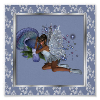 KRW Blue Lace Faery 2 Poster