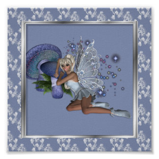 KRW Blue Lace Faery 3 Poster