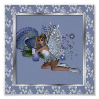 KRW Blue Lace Faery 4 Poster