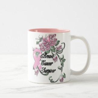 KRW Breast Cancer Survivor Two-Tone Mug