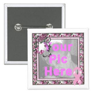 KRW Breast Cancer Walk Custom Pic Frame Pin