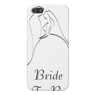 KRW Bride to Be Elegant Silhouette  iPhone 5 Case